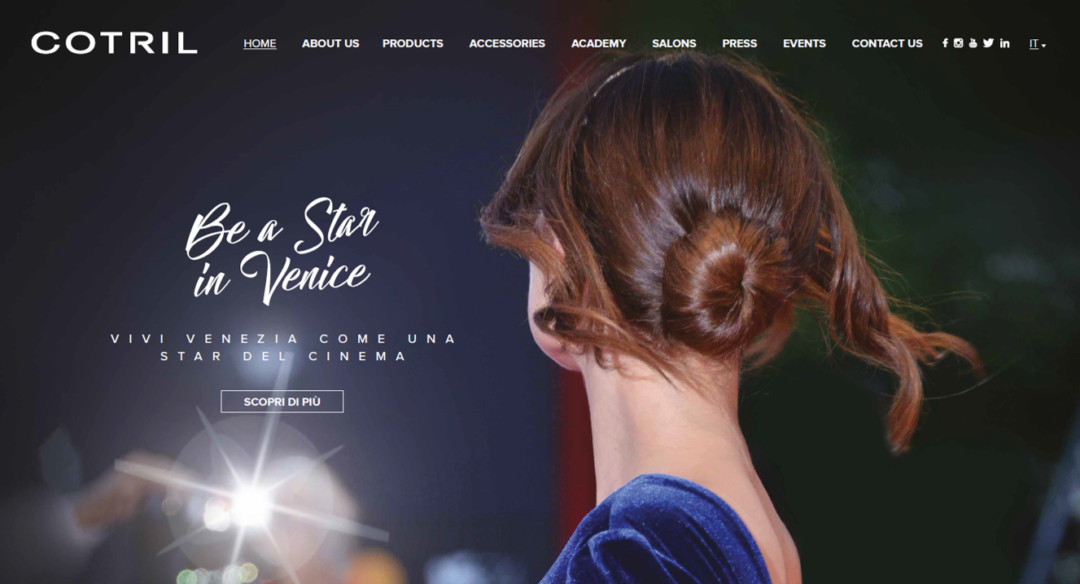 Be a Star in Venice