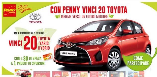 Con Penny vinci Toyota